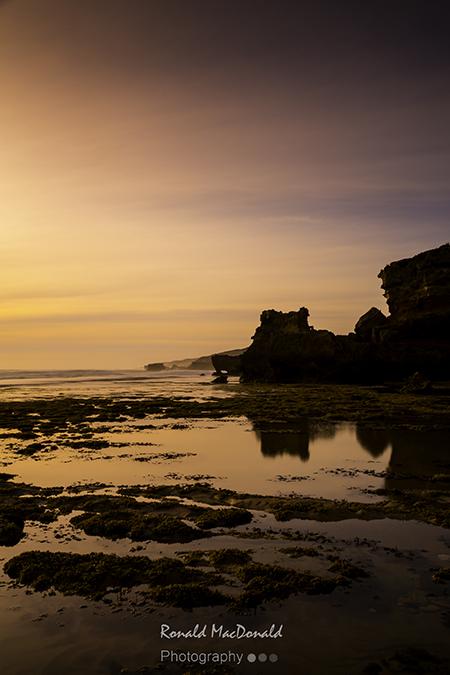 North from St Paul's Beach, Mornington Peninsula