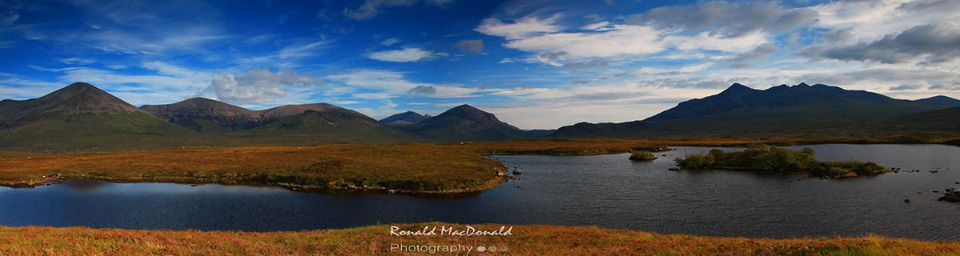 The Red and the Black Cuillin