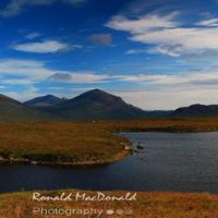 The red and black Cuillin