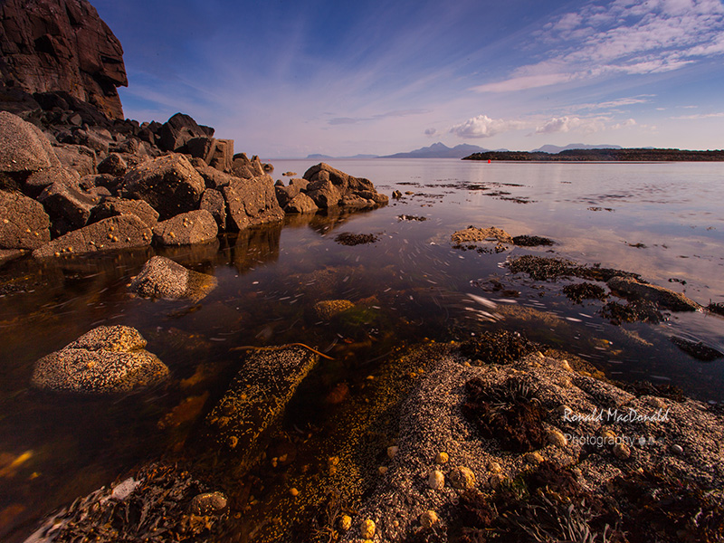 Isle of Rum from Skye