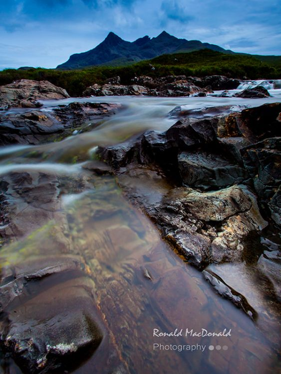 Rocky Pools, Alt Dearg Mhor, Isle of Skye