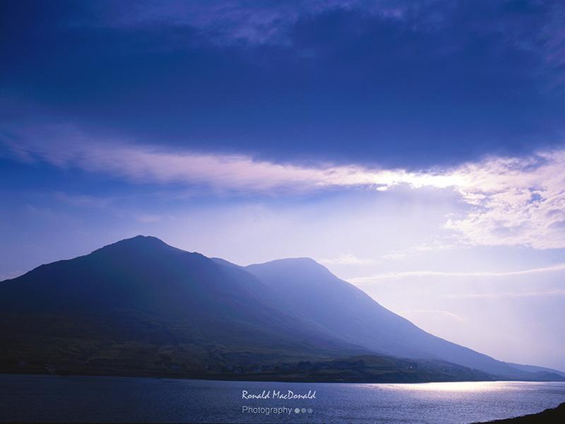 Shaft of Light over Glamaig, Isle of Skye