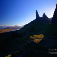 Silhouette of the Old Man of Storr, Isle of Skye