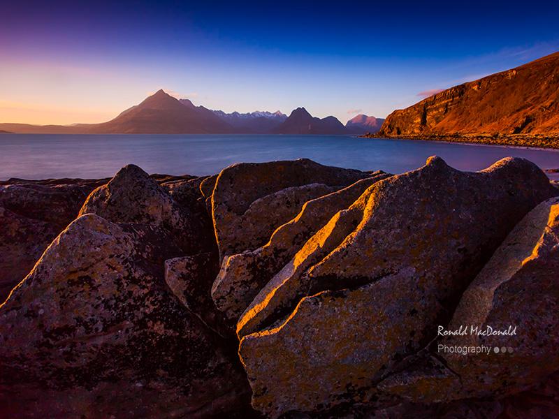 Standing Stones, Elgol, Skye