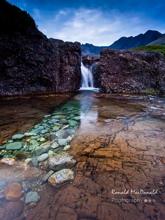 Summer Cascade Fairy Pool[]