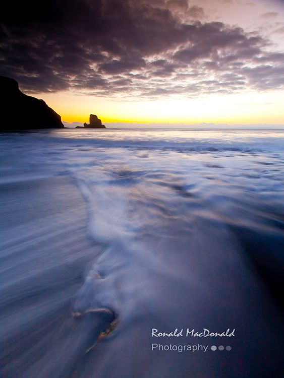 Nightfall on Talisker Bay