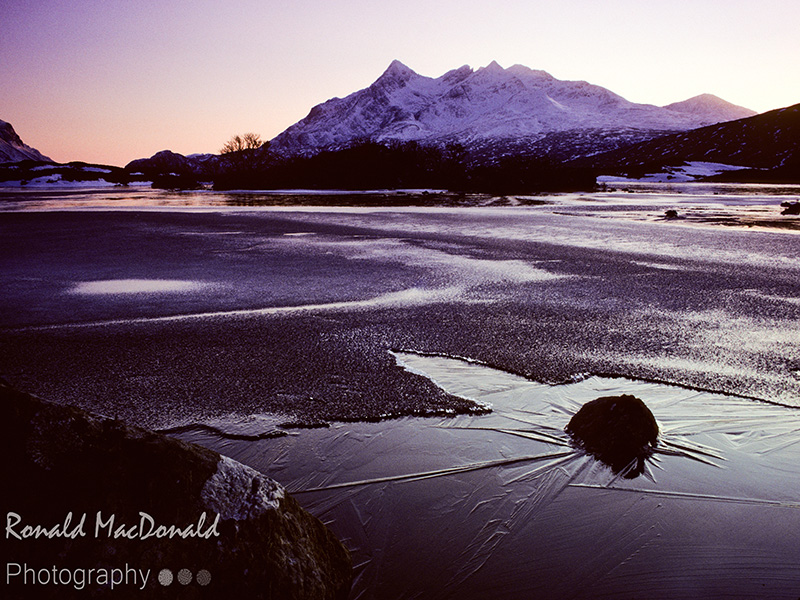 The Black Cuillin and the Black Ice, Isle of Skye