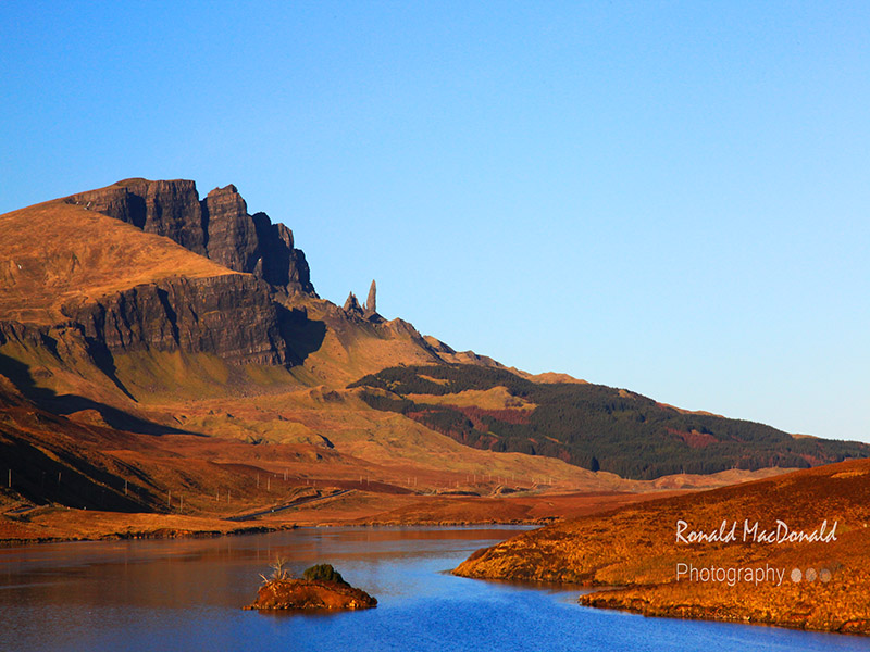 Autumn Gold, Old Man of Storr