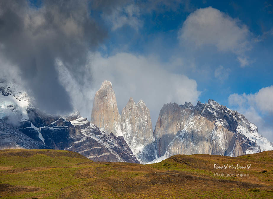 Torres del Paine Towers Chile