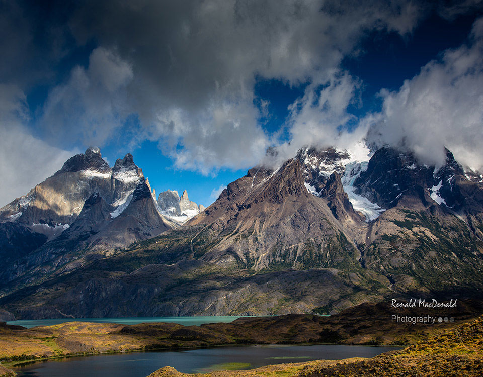 Distant Towers Torres del Paine
