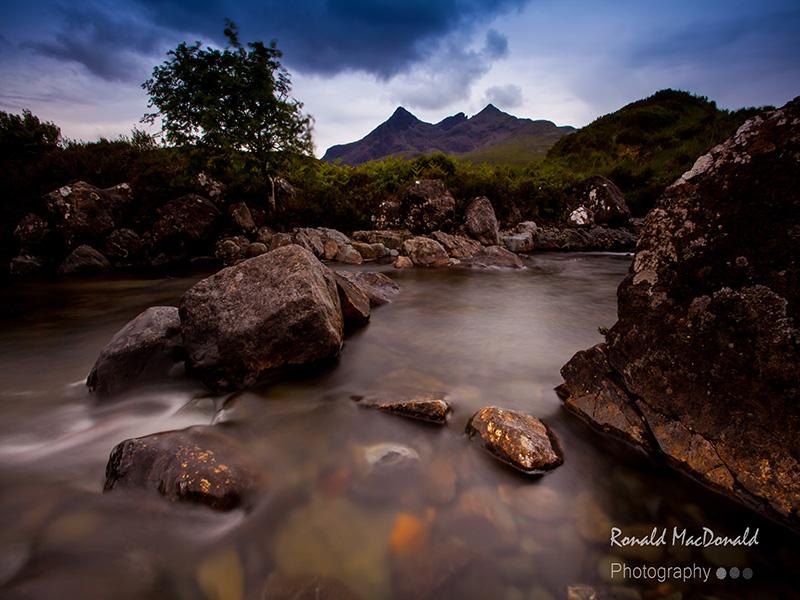 Tranquil Pool, Alt Dearg Mhor, Isle of Skye