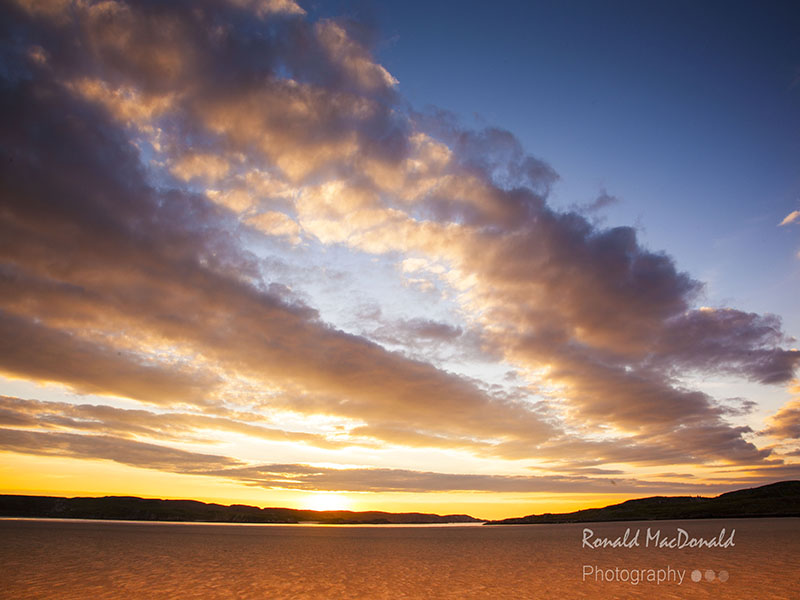 Uig Lewis sunset