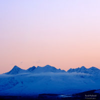Winter Dusk over the Black Cuillin, Isle of Skye