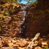 Silverband Falls in Summer, Grampians