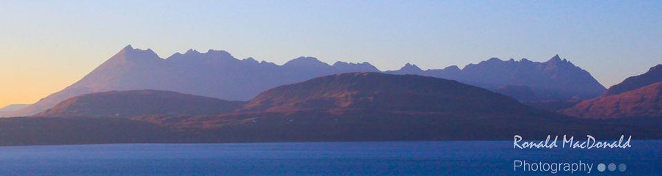 The Cuillin Ridge from Tokavaig