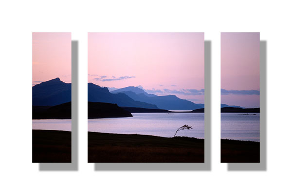 Ben Tianavaig and the Storr - Triptych