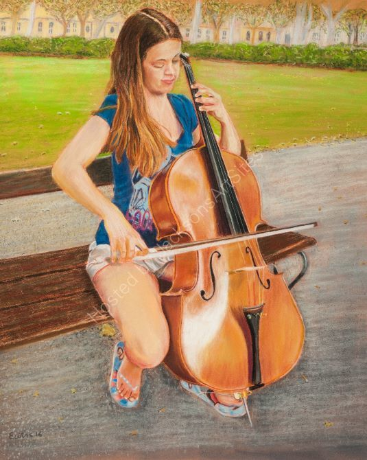 Cellist in the Park