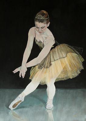 Ballerina on Black