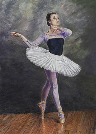 Ballerina On Points