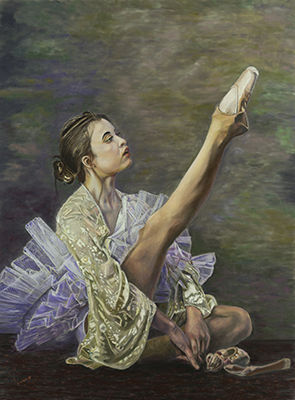 Seated Ballerina