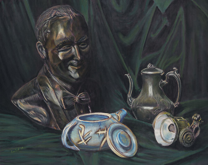 401-Still Life With Bust