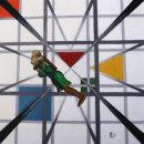 LEONARDO IN THE 5TH DIMENSION NO 2 (Green)