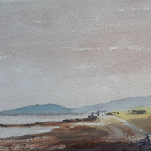 Poyllvaaish looking towards Port St. Mary, Isle of Man