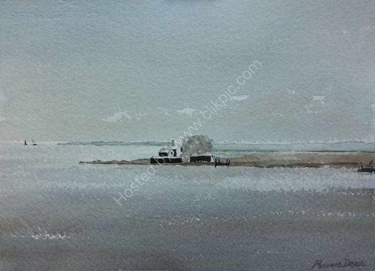 Poyllvaaish from the Sea, Isle of Man