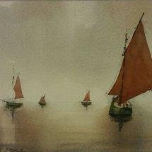Traditional Boats Regatta, Peel, Isle of Man.