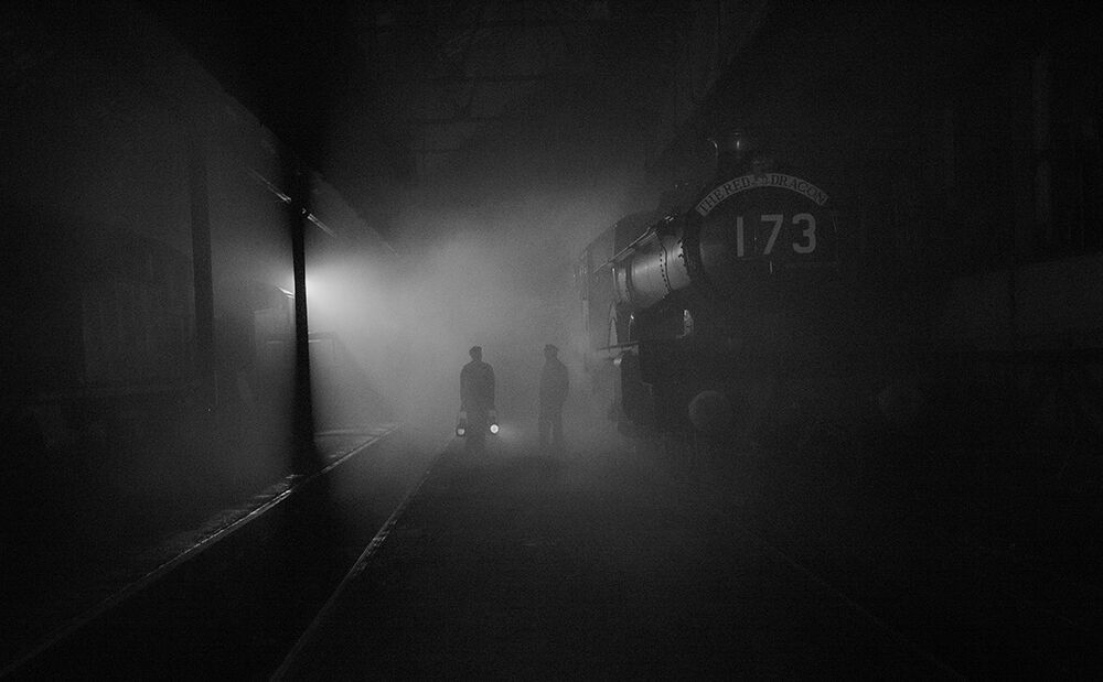 Atmosphere of the Steam Shed
