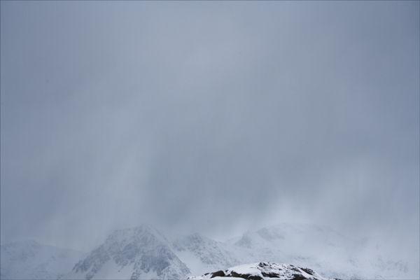 Blizzard conditions.