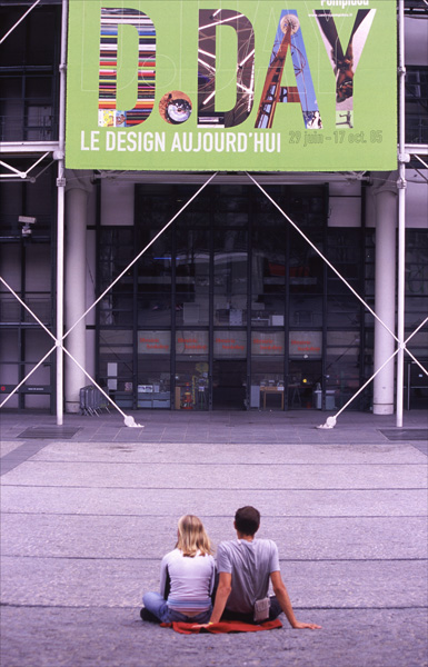 D Day, Pompidou Centre.