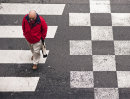 Chequered crossing
