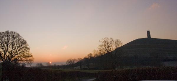 Glastonbury Dawn.