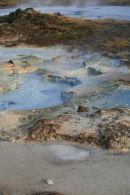 Volcanic mud pool.