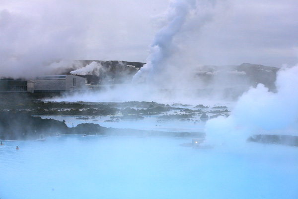 Steam. Blue Lagoon.