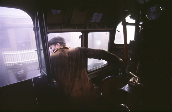 Inside the Cab.