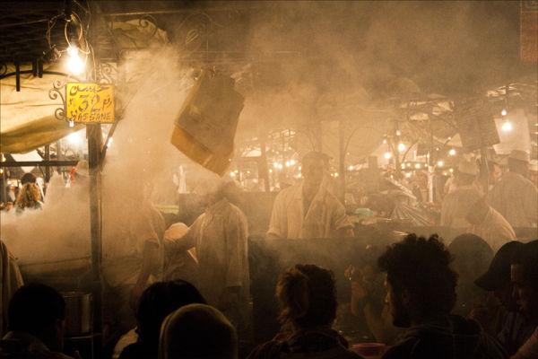 Marrakech Market.