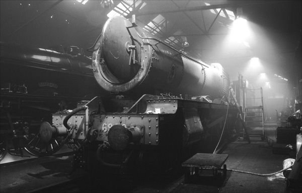 Steam Shed, Loughborough.