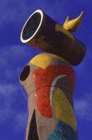 Miro sculpture.