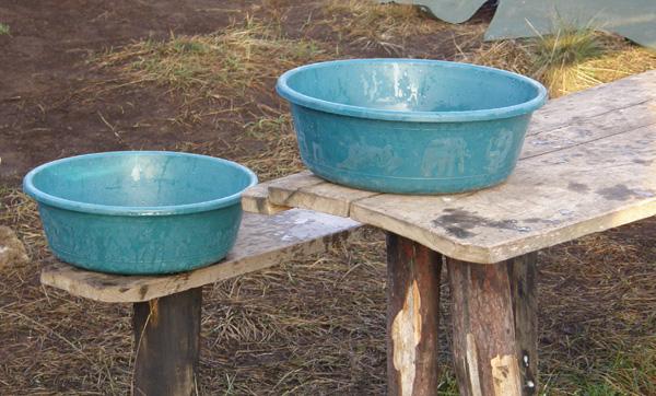 Washe washe bowls!