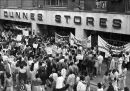 Dunnes Stores protest