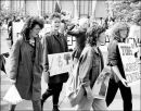 Anti-Reagan protest outside US Embassy