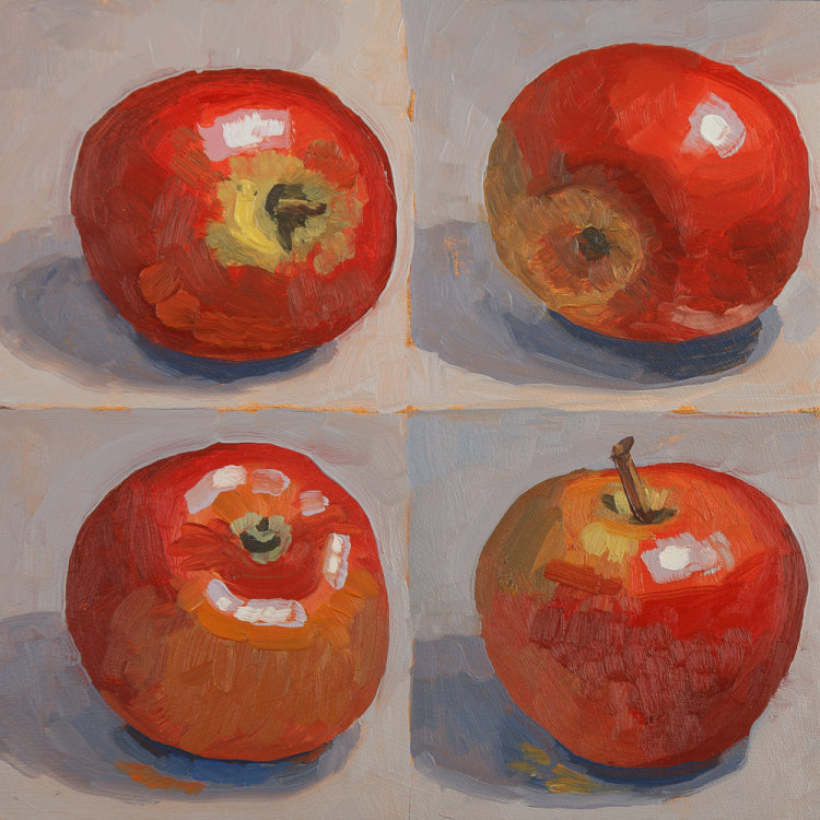 Four Apples SOLD