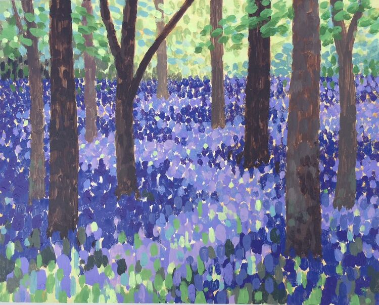 Bluebells Pools of Shade