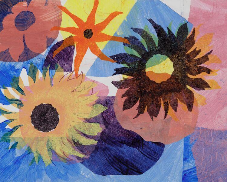 Flowers for Mondrian
