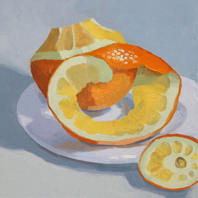 Peeled Orange SOLD