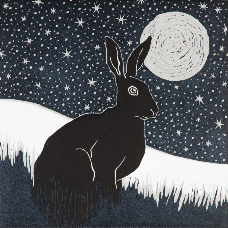 Stargazing Hare SOLD