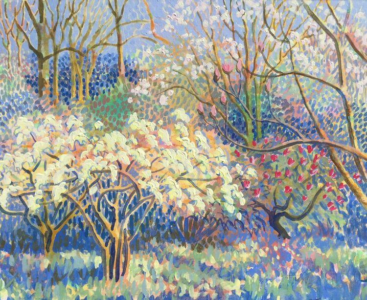 Spring Arboretum. SOLD