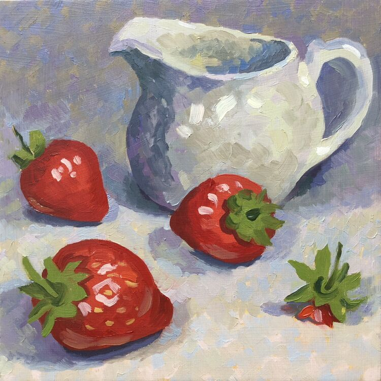 'Strawberries and Cream' SOLD